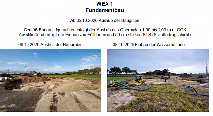 WEA 1 September und Oktober 2020